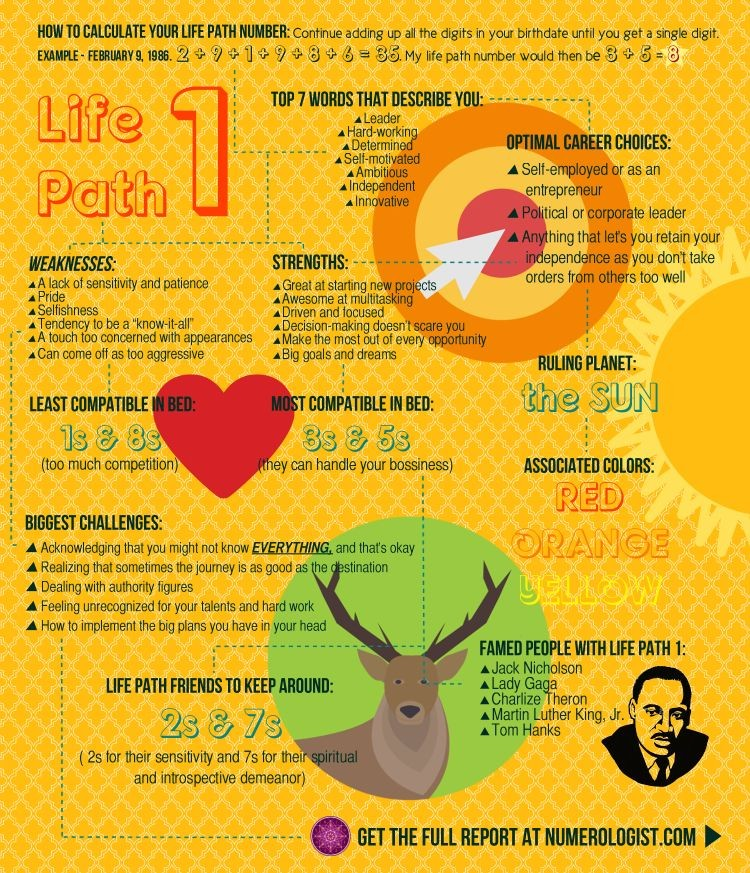 Numerology: What's Your Life Path Number? – Lexy Monty